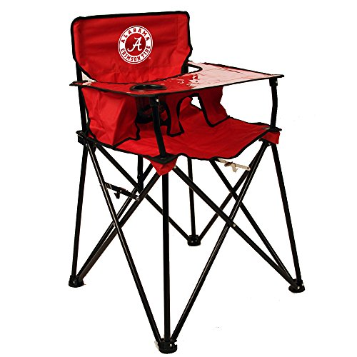 Rivalry Distributing RIV-RV104-1700 Alabama Crimson tide NCAA Ultimate Travel Child High Chair by Rivalry Distributing