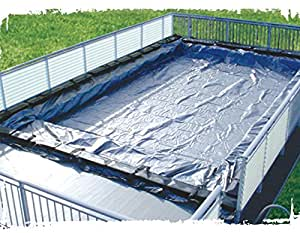 12'x20' On-Ground Swimming Pool Winter Cover Fits Kayak & Fanta-Sea 15 Year