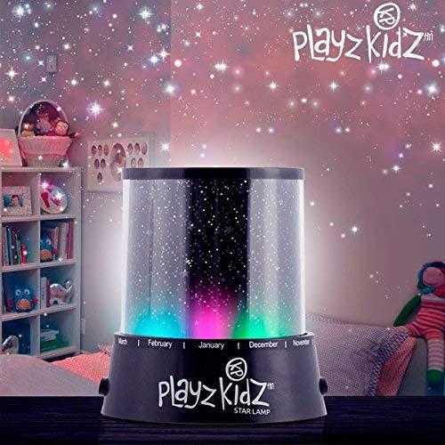 Hasëndad Play Kidz Lámpara LED, Proyector de Estrellas, Negro, 10 ...