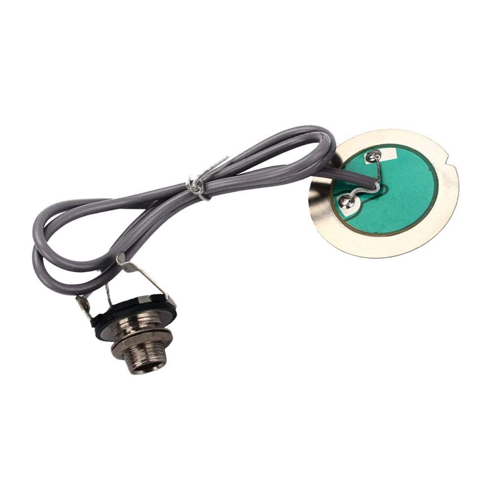 HEALLILY Mini Piezo Contact - Fonocaptor de micrófono para ...