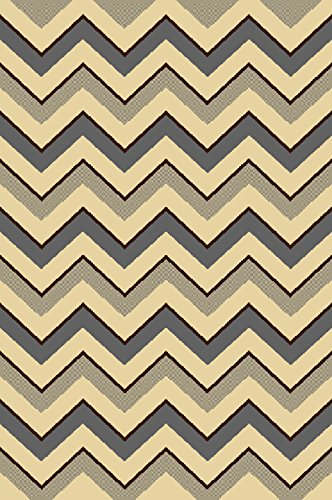 Home Dynamix HD5330-45 Royalty Collection Oval Area Rugs, 31 by 50-Inch, Gray/Ivory - Area Collection Royalty Rug