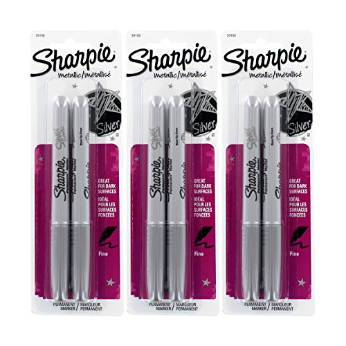 Sharpie Metallic Permanent Markers Silver product image