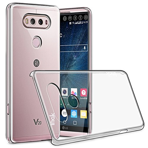 IMAK LG V20 Funda, Transparente Transparente Transparente Carcasa ...