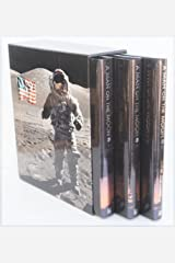 A Man on the Moon, 3 Volumes: One Giant Leap; The Odyssey Continues; Lunar Explorers Hardcover