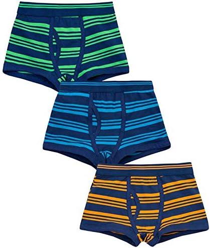 Metzuyan Boys Dinosaur Cotton Rich Boxer Shorts /& Socks Set