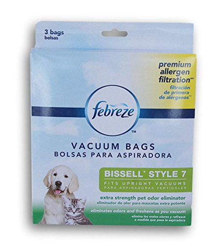 febreze Style 7 Vacuum Bags with Febreeze and Extra Strength Pet Odor - Friendship Bag