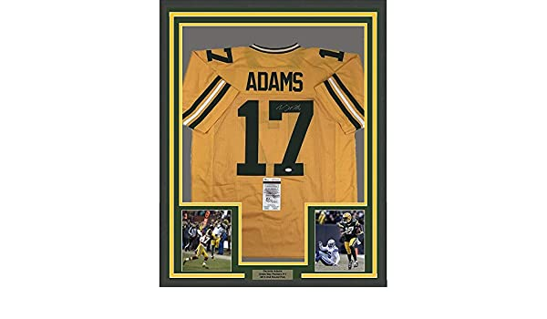 Framed Autographed Signed Davante Adams 33x42 Green Bay Packers Yellow  Football Jersey JSA COA at Amazon s Sports Collectibles Store 8a9b8c1e5