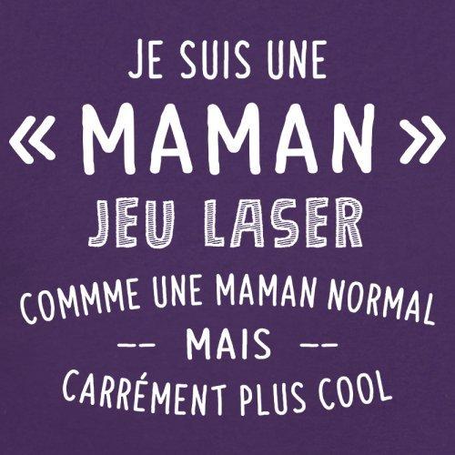 une maman normal jeu laser - Femme T-Shirt - Violet - XXL