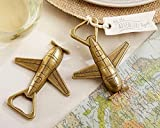 50 'Let The Adventure Begin' Airplane Bottle Opener