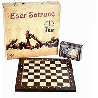 Lüks Satranç Takımı Çantalı Kutulu Eser Satranç Seti 1. Kalite
