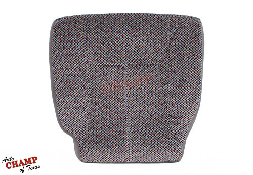 Auto Champ Of Texas 1998 1999 2000 2001 Dodge Ram SLT -Driver Side Bottom Cloth Seat Cover Mist Gray