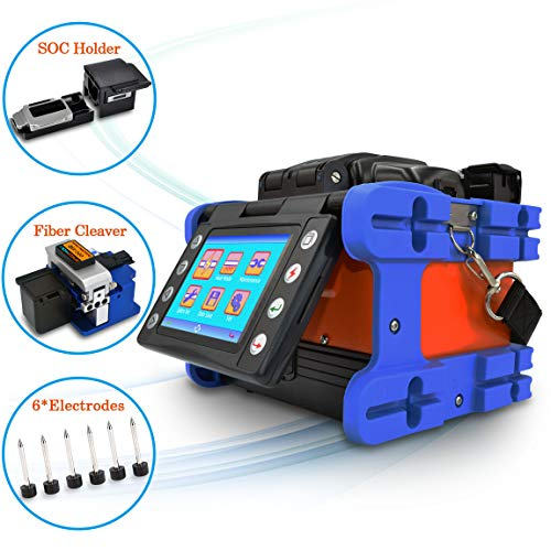Fusion Splicer,SPEEDWOLF Core Alignment Portable 3.6