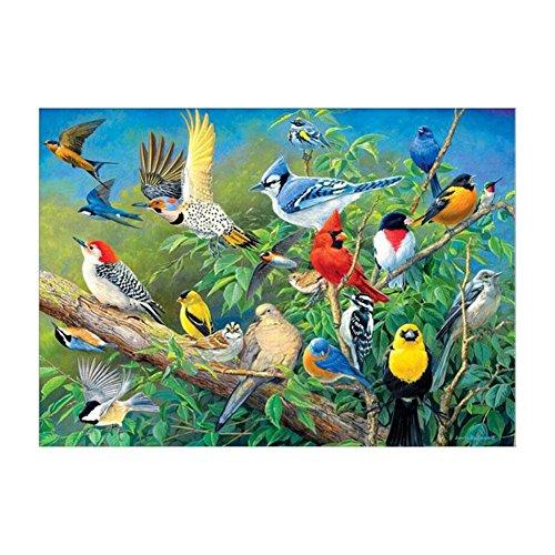 Whitelotous 5D Diamond Painting Birds Crystal Embroidery DIY Cross Stitch Home Decor 40x30cm