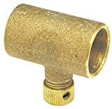 Cast Bronze Drain Coupling, C x C Connection Type, 3/4'' Tube Size