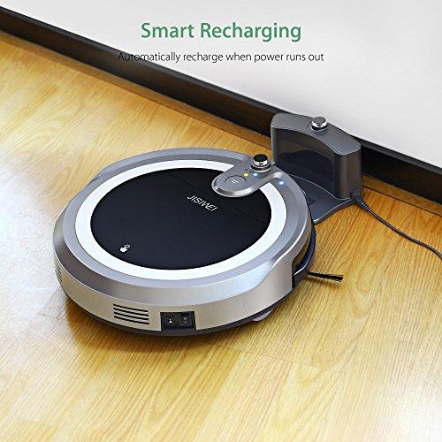 JISIWEI I3 Wi-Fi Enabled Robotic Vacuum Cleaner...