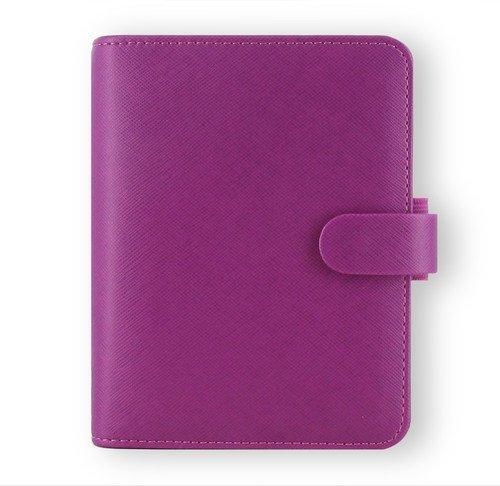 Filofax Saffiano Leather Pocket Raspberry Organizer Agend...