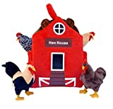 ADORE 12' Hen House Chicken Coop Plush Stuffed Animal Playset