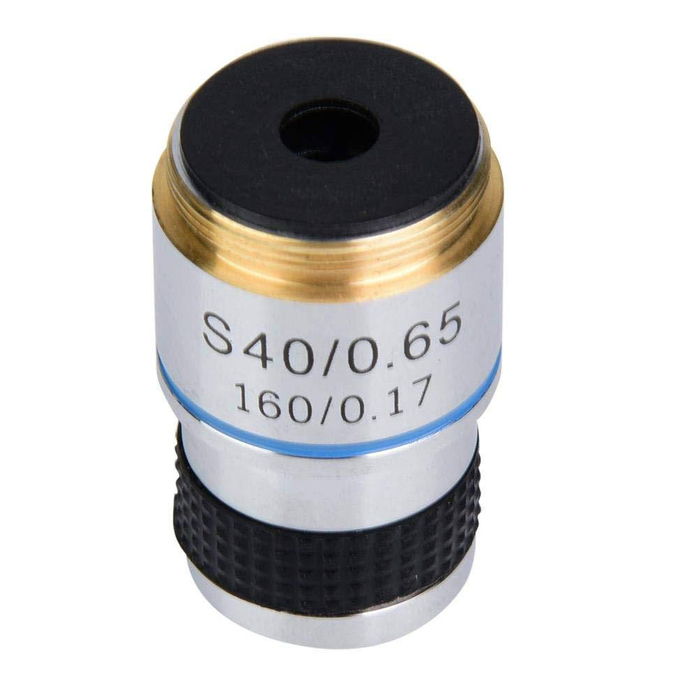 40X 185 Microscopio biol/ógico Objetivos acrom/áticos Lente 160//0.17 Microscopio biol/ógico