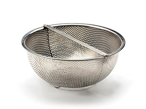RSVP Endurance 18/8 Stainless Steel Divided Colander, 3- Quart