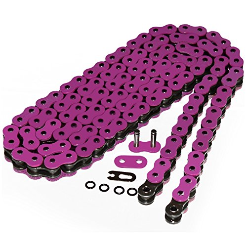 2008 O-ring Chain (Caltric O-RING Pink DRIVE CHAIN Fits YAMAHA FZ6 FZ-6 2004-2008)