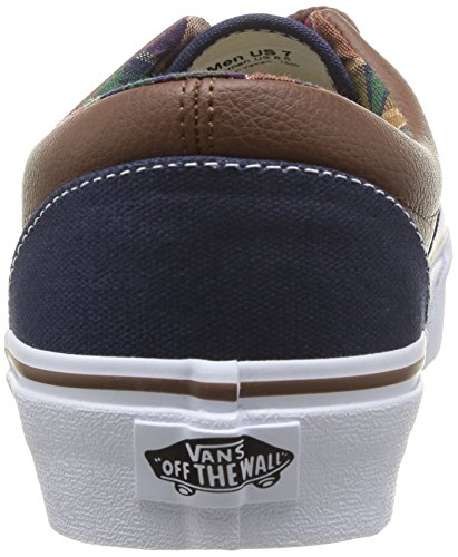 Vans U Era 59 C L, Unisex-Erwachsene Sneakers Blau (Bleu (Dress Blues/Potting Soil))