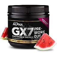 Alpha Gx7 Pre Workout -30 Servings Watermelon Flavor