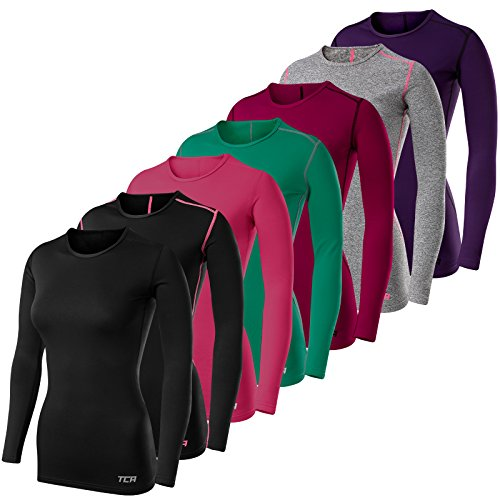 Total Compression Advanced Women's TCA SuperThermal Long Sleeve Performance Base Layer Running Training Top
