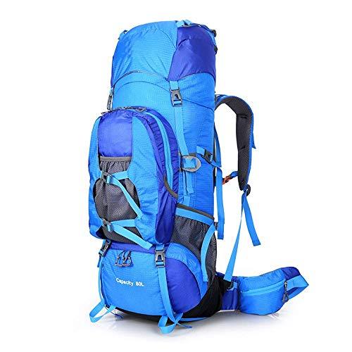 Randonnée Bandoulière Sac De Multifonction Voyage Sport D'alpinisme Air Camping Plein Grande À Capacité Dos Blue En 667UxwF