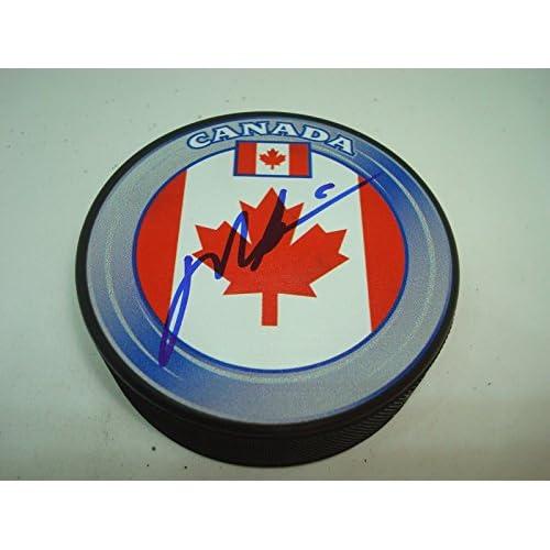 size 40 e0e2e 8c98c Mark Messier Signed Team Canada Hockey Puck Autographed ...