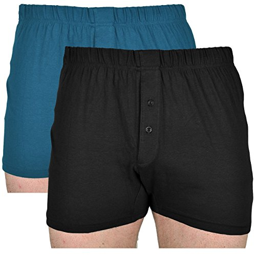 6  Pack Mens Billy//Classic Boxer Cotton Boxer Shorts Sizes S 6XL