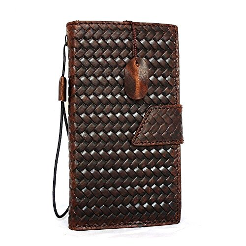 Genuine Real Leather Case for HTC One M8 Book Pro Wallet Handmade Slim Retro Free Shipping Art