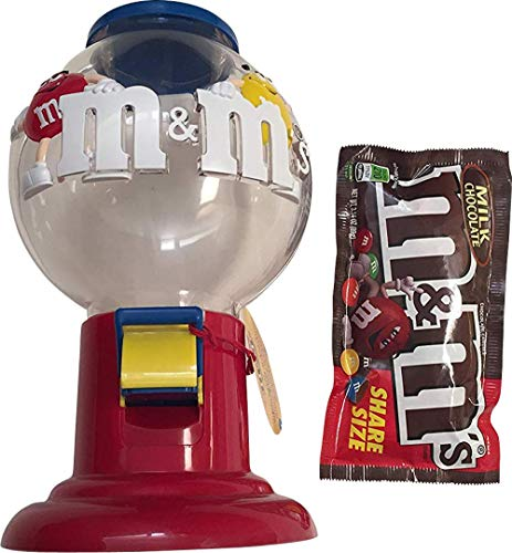 M&M's Pull Lever and Dispense Gumball Candy Dispenser for sale  Delivered anywhere in USA