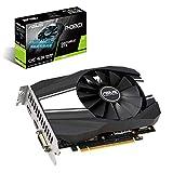 ASUS GeForce GTX 1660 Overclocked 6GB Phoenix Fan Edition HDMI DP DVI Graphics Card (PH-GTX1660-O6G)
