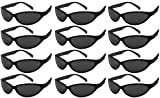 Edge I-Wear 12 Pack ADULT Neon Party Sunglasses