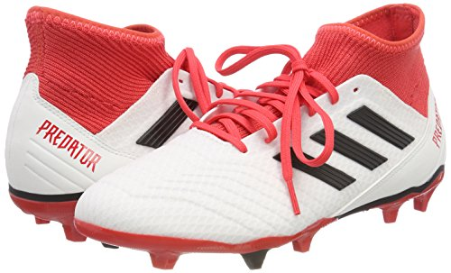 Adidas Predator Pour ftwbla 18 000 Chaussures Homme Blanc Football Fg Strap De 3 Negbas rrd4q8