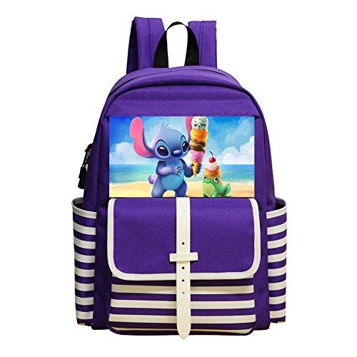 Ice Cream Stitch Student Backpack School Bag Print Customized Super Bookbag Break
