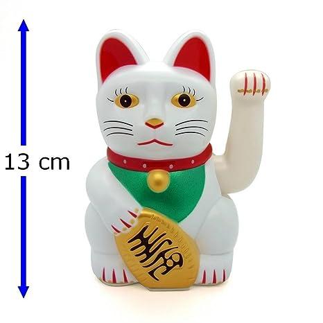 Gato de la suerte Starlet24, gato que saluda, gato Feng Shui, Maneki Neko
