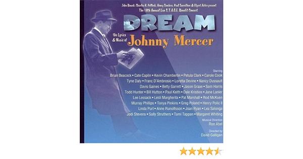 Dream:Johnny Mercer Music: Various : Amazon.es: Música
