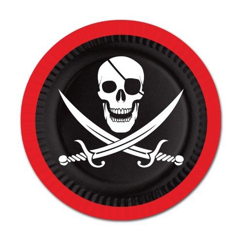 Pirate Plates   (8/Pkg)