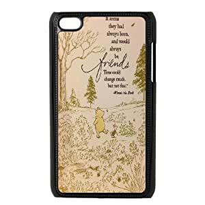 High Quality Phone Back Case Pattern Design 13Funny Cartoon Winnie Series- FOR IPod Touch 4th