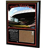 MLB Houston Astros Minute Maid Field 8x10-Inch Game Used Dirt Plaque Photomint