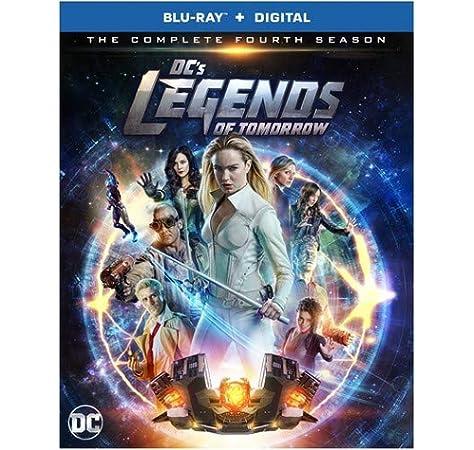 DcS Legends Of Tomorrow: Complete Fourth Season 2 Blu-Ray ...