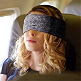 Junsong6637 Neck Support Scarf Voyage Pillow For Airplane Eye Mask Compact Versatile Side Sleeper Travel Pillows for Airplanes Best Naps Rest Camping Trains Comfort(black)
