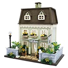 Billy handmade doll house kit Woody House Collection Manor House 8817 (japan import)