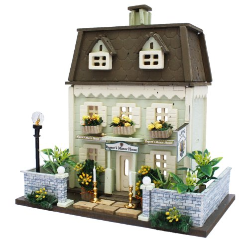 Billy handmade doll house kit Woody House Collection Manor House 8817 (japan import) (House China Manor)