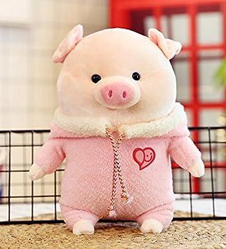 YOIL Lindo y Encantador Juguete Suave Peluches Adorable 28cm Relleno Cerdo Animado Felpa Suave Cerdo con