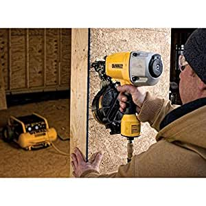 Dewalt Pneumatic 15 Degree Coil Framing Nailer Amazon Com