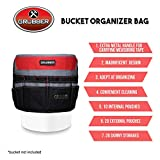 Grubber Tool Bucket Organizer Fits 5 Gallon, In and