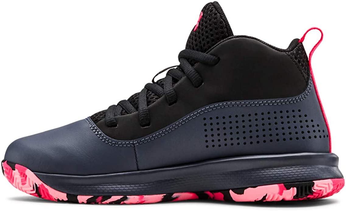 Under Armour Kids' Pre School Lockdown 4 Basketball Shoe
