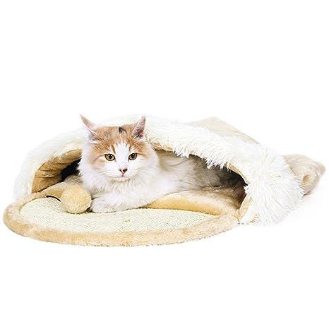 cuckoo-X Pet Cat Soft - Saco de Dormir para Interior de Gato ...